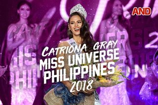 Catriona Gray, Miss Universe Philippines 2018