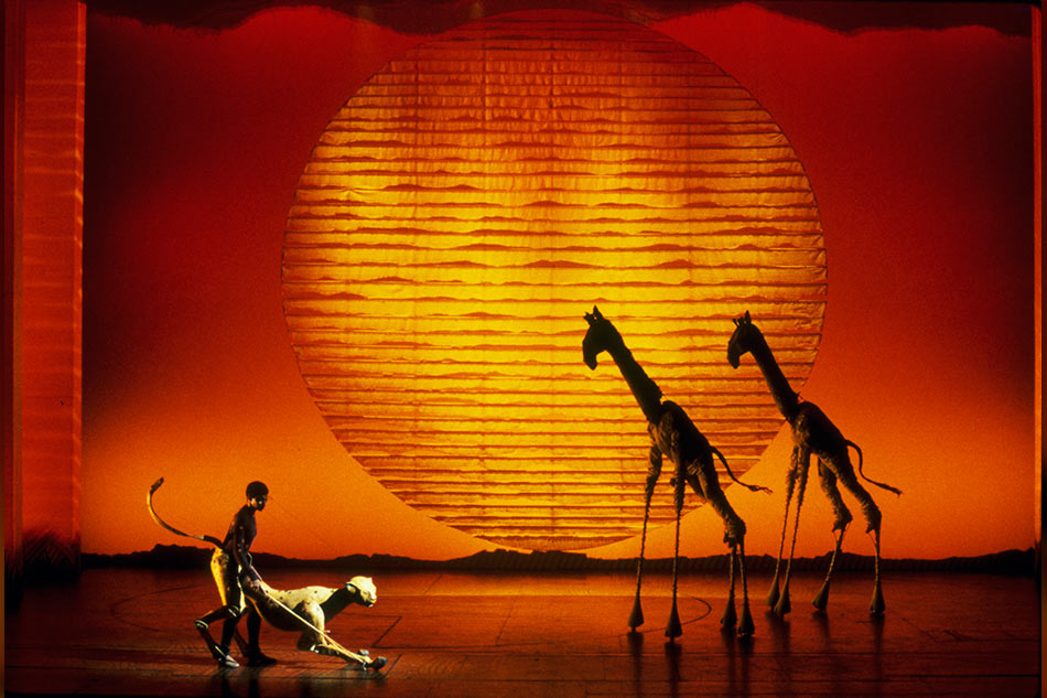 Theater Review Roaring Approval For The Lion King Abs