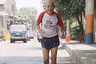 72 anyos, ibinida ang pagiging 'ultramarathoner'