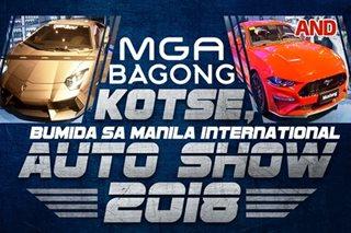 Mga bagong kotse, bumida sa Manila International Auto Show 2018