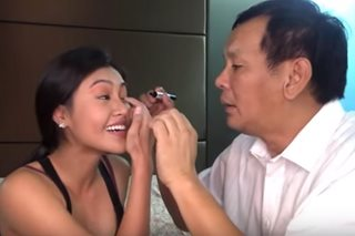 WATCH: Joey Marquez does makeup of daughter Wyn