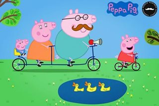 'Gangster' Peppa back in China's good graces in Year of the Pig
