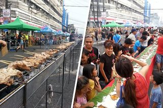 Bacolod treats event-goers, street kids to 3,000 chicken inasal