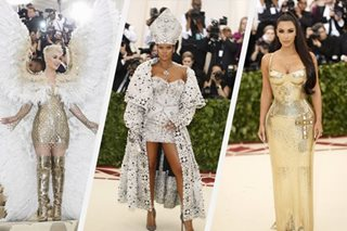 LOOK: Goddesses, angels, pope rock Catholic-inspired Met Gala