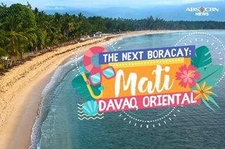 The search for the next Boracay: Mati, Davao Oriental