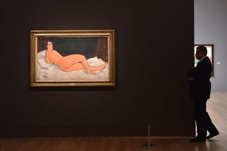 Modigliani nude fetches $157 million at New York auction