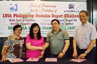 PH to host 2019 Asia Sudoku Championship