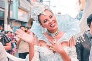LOOK: Catriona Gray joins 'sagala' in Laguna