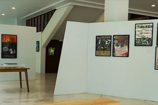 Last week for Vargas Museum's 'Posters for Philippine Cinema'