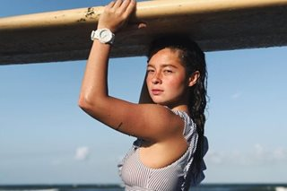 Andi Eigenmann now lives in Baler