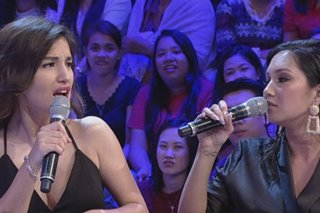'May past kayo ni James Reid?' Nathalie Hart caught off guard by question