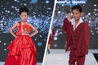 Pinoy designs take finale walk at children's fashion show in London