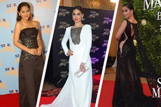 From 2007 to 2017: Maja Salvador's red carpet looks