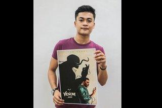 Davao artist wins global 'Venom' poster art competition