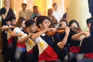 Pinoy youth orchestra to perform in Qatar