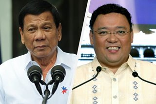 Duterte hints at getting Roque to handle water concession case