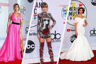 IN PHOTOS: Taylor Swift, JLo slay American Music Awards red carpet