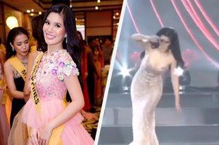 Eva Patalinjug, buo ang loob matapos matalisod sa Miss Grand International stage