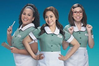 Joanna Ampil, Bituin Escalante, Maronne Cruz blend perfectly in 'Waitress'