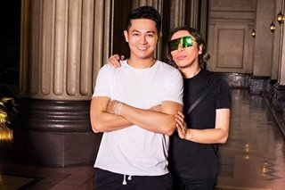 WATCH: Michael Leyva works with Michael Cinco for fashion shoot
