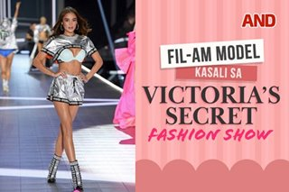 Fil-Am model, kasali sa Victoria's Secret fashion show