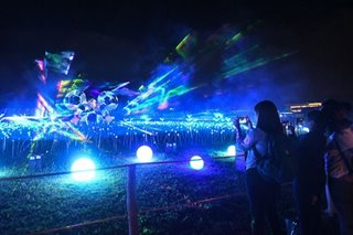 IN PHOTOS: A field of light dances to Disney tunes in Nuvali