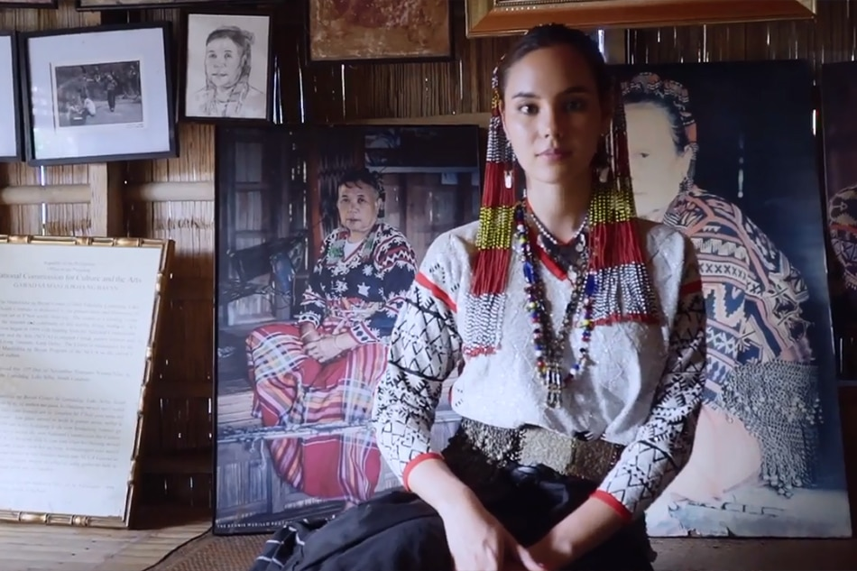 WATCH: How Catriona Gray is representing Luzon, Visayas