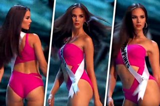 Catriona Gray struggled with 'slow-mo twirl' because of scoliosis
