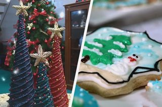DIY: Paggawa ng mini Christmas tree at cookies