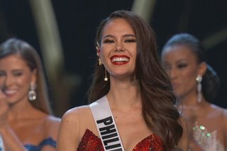Catriona Gray among Miss Universe 2018 Top 3