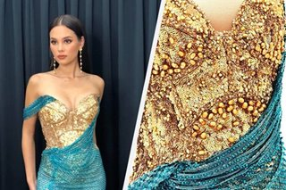 What could have been: Catriona's 3rd Miss Universe gown, and its patriotic symbol, revealed