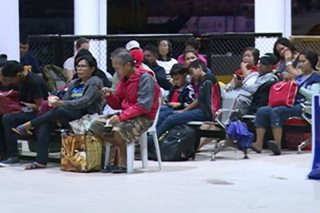 Fastcraft passengers stranded in Iloilo City