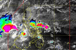 'Agaton' strengthens as it moves to exit PH