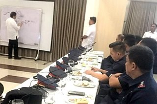 Duterte 'lectures' cops, firemen after string of mishaps