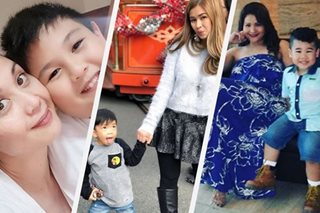 LOOK: Ex-PBB housemates as doting moms