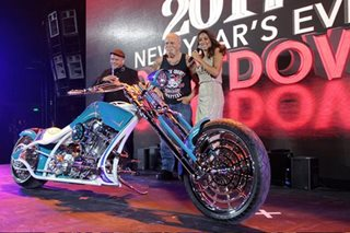 Team behind 'American Chopper' unveils custom motorcycles for Okada
