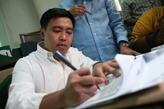 Junjun Binay asks Sandigan to junk graft, malversation raps