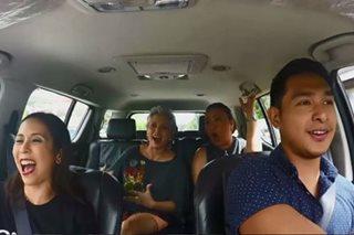 WATCH: 'Ang Larawan' stars in carpool karaoke