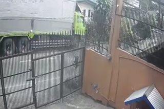 SAPUL SA CCTV: Truck sumadsad sa isang bahay sa Baguio