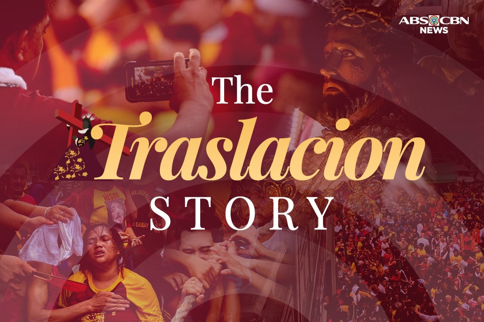 An Instagram story of the Traslacion