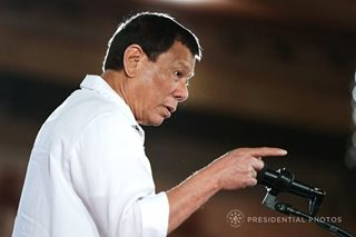 Evangelical churches 'immensely offended' by Duterte's 'stupid God' remark