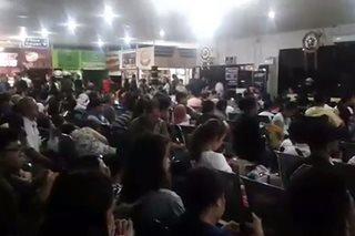 Ilang flights mula Tacloban City, naantala