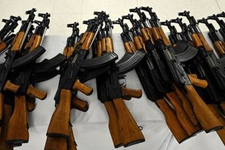 DOJ orders fresh probe into alleged sale of PNP rifles to NPA busted in 2014