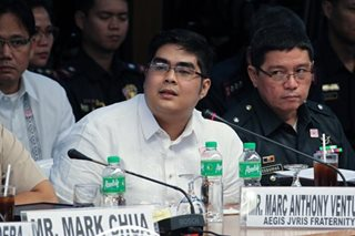 DOJ admits Aegis Jvris fratman's testimony on 'Atio' hazing