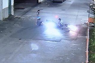 SAPUL SA CCTV: Salpukan ng 2 motorsiklo sa Caloocan
