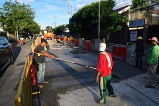 Metro Manila road repairs set during long weekend