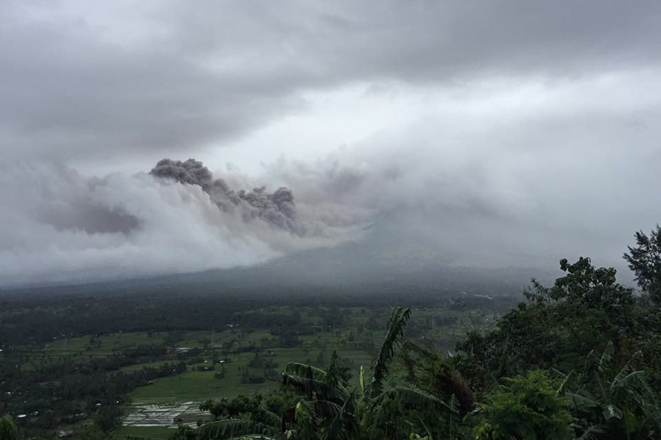 Mayon Volcano is acting up