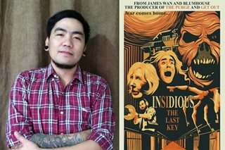 Pinoy wins 'Insidious' alternative poster contest