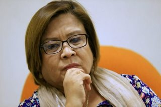 De Lima thanks US, Canada for support in sanctioning Duterte gov't