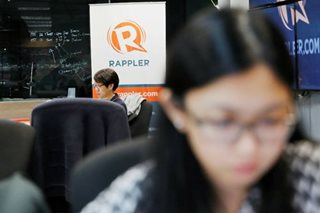 Roque: Omidyar donation 'an admission' of Rappler's violation